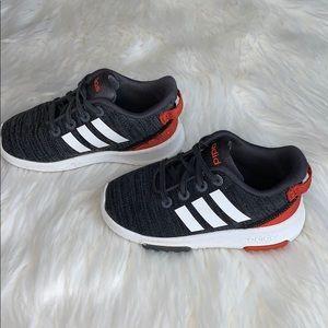 adidas sneaker no tie stretch strains size 6K